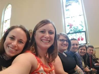 Stephanie, Nicole, Heather, Sean, Lauren, Rob