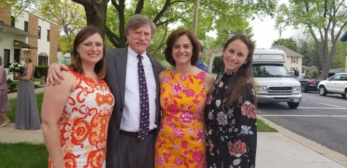 Nicole, Dad, Mom, Stephanie