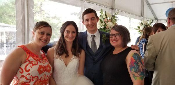 Nicole, Annie, Will, Heather