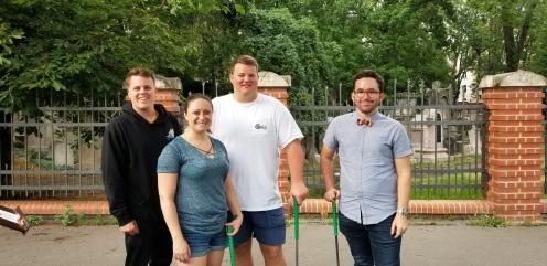 Shea, Nicole, Christian & Colin